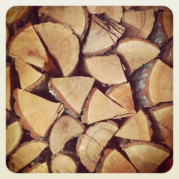 Romanian country firewood