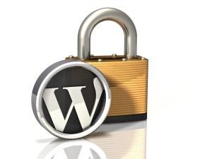 Lock Icon: WordPress