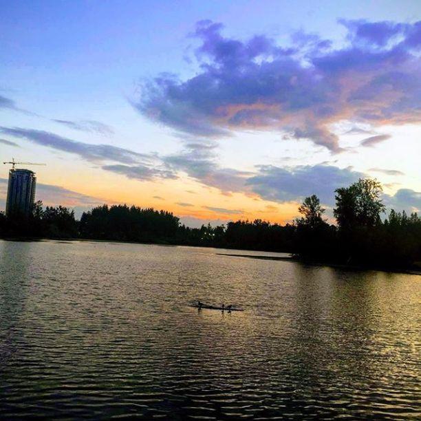 Mill Lake sunset