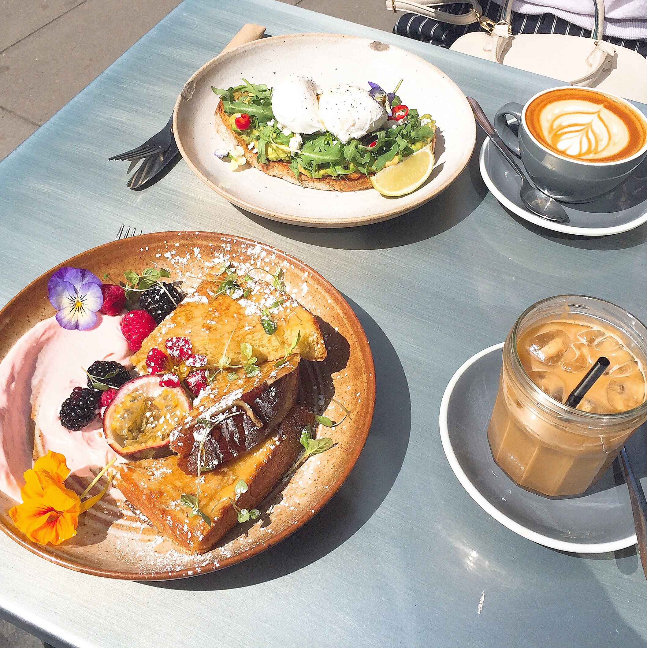 A Flowery Brunch at Attendant Cafe