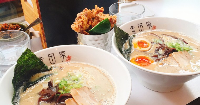 Ramen Karaage Combo Is Always A Good Idea