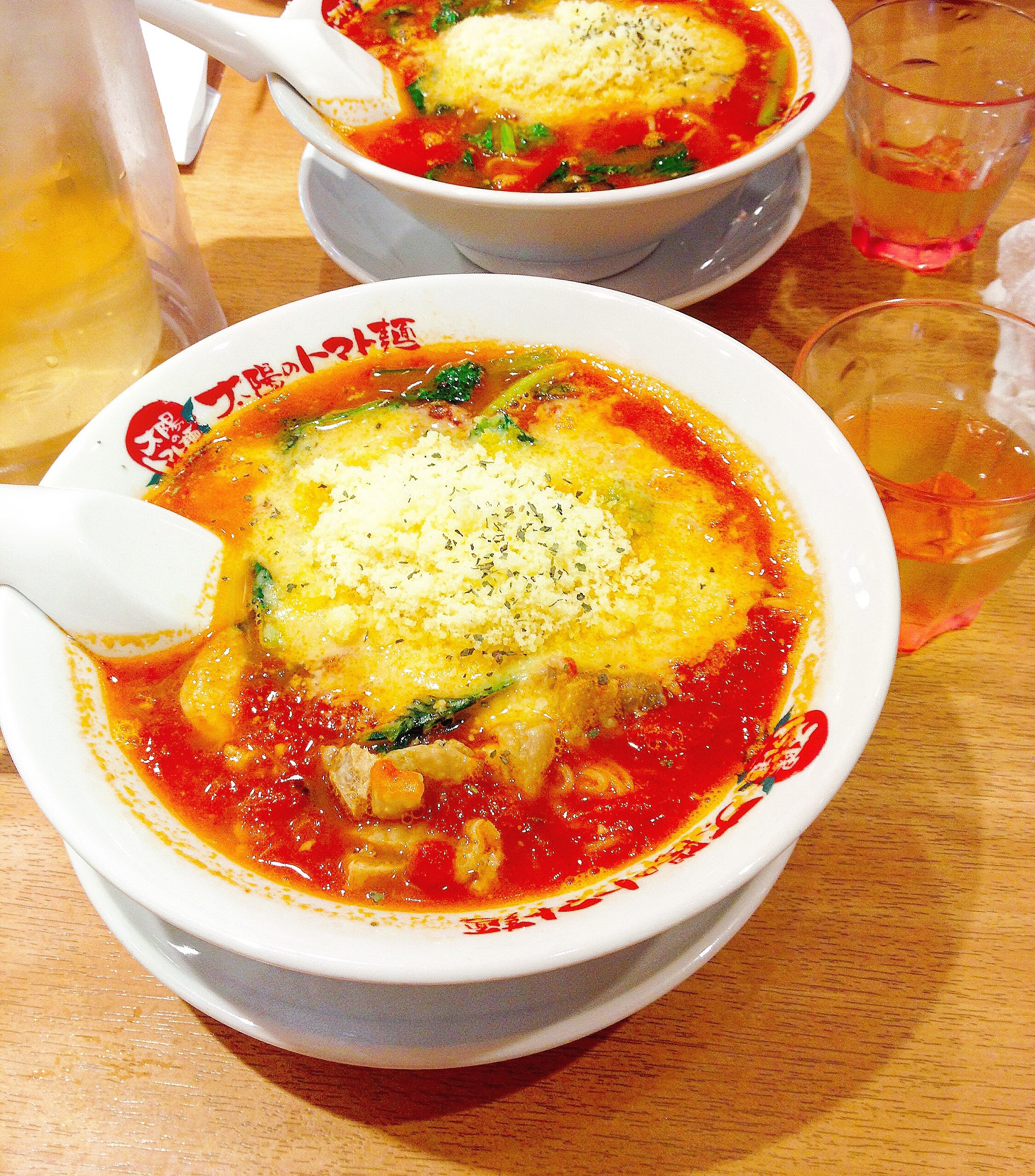 Tomato Ramen, First!