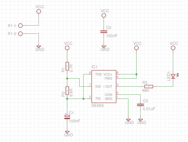 Connections in the schematics