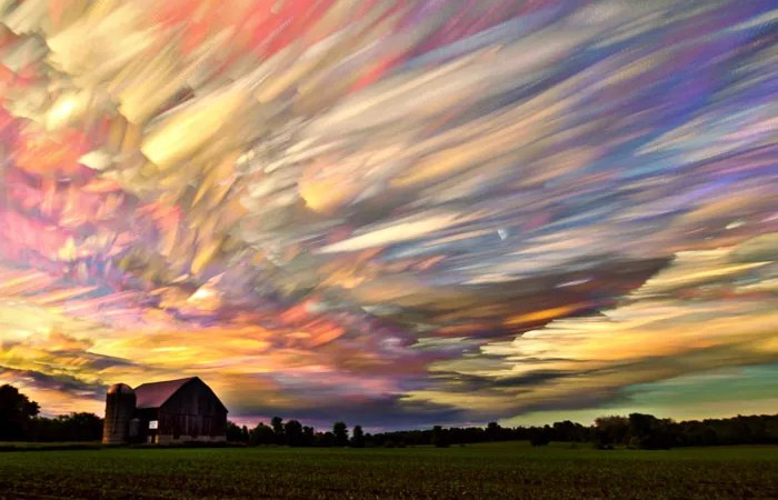 sunsets-stacked-in-a-sky