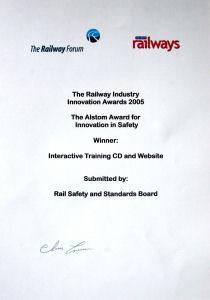 RIIA Certificate