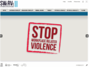 Screenshot - SWERVE - Stop Workplace Related Violence