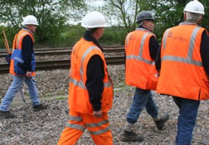 Track workers in PTS