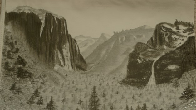 Yosemite charcoal