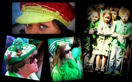 The green spirit on St Patrick's day