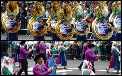 Trumpet and barrel
