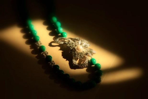 Sea green turquoise pearl