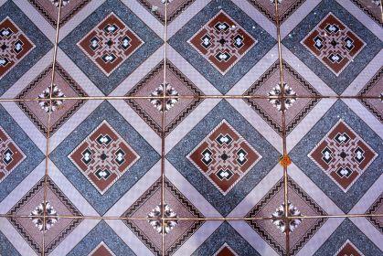 phnom krom cambodia tile floor