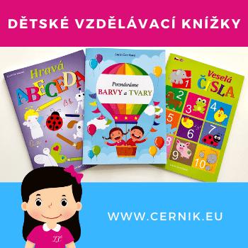 Dětské vzdělávací knížky - cernik.eu