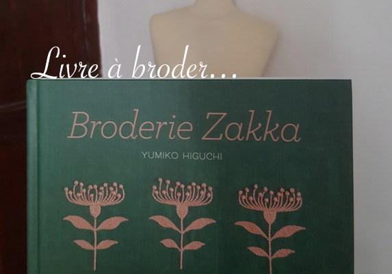 Broderie Zakka, livre de Yumiko Higuchi