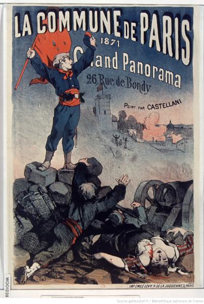 Affiche La Commune de Paris Gallica Bnf