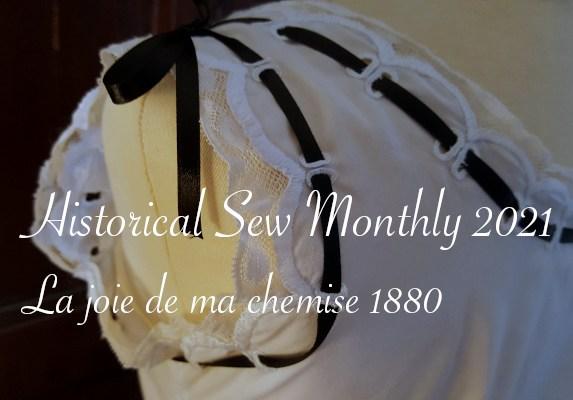 gros plan festons brodés chemise 1880 - Carnet de recherches de Lucie Choupaut