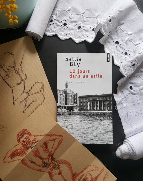 couverture du livre de Nellie Bly, 10 jours dans un asile