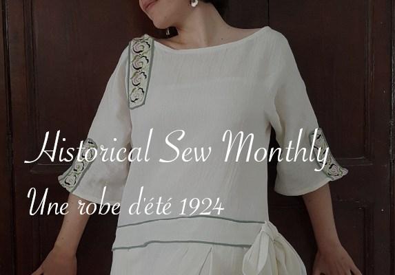 Robe d'été 1924 - Carnet de recherches de Lucie Choupaut