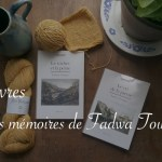 Les mémoires de Fadwa Touqan - Carnet de recherches Lucie Choupaut