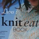 Couverture du livre Knit eat book - Carnet de recherches de Lucie Choupaut