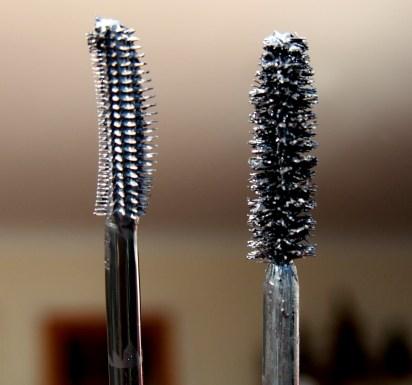 Left - Roller Lash brush, Right - Perversion brush