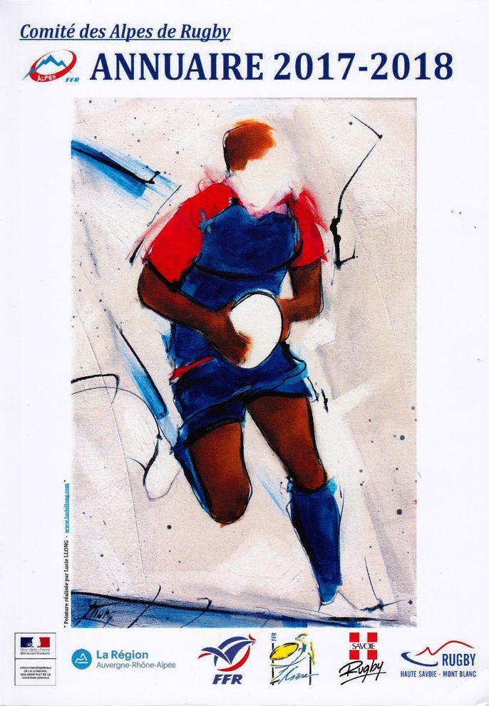 sport art rugby grenoble FCG comité des alpes presse