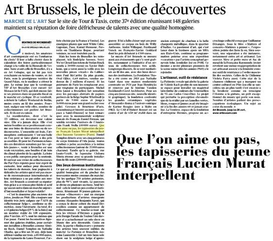 Le Figaro, le 26 Avril 2019