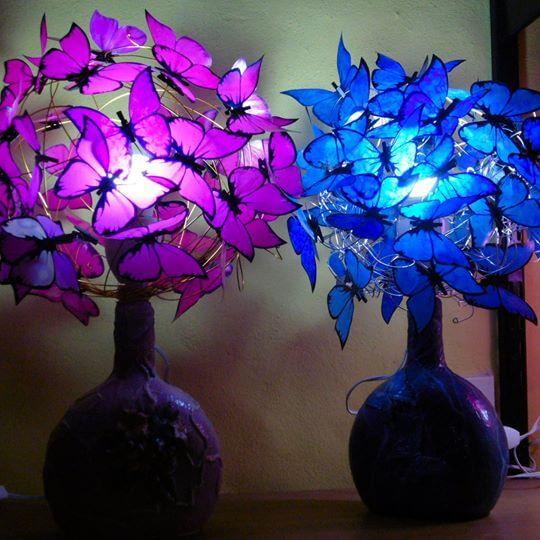 Cómo hacer lámparas con botellas de vidrio