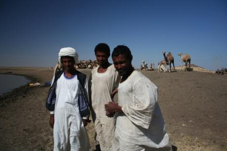 Sorry, me no speak camel driver