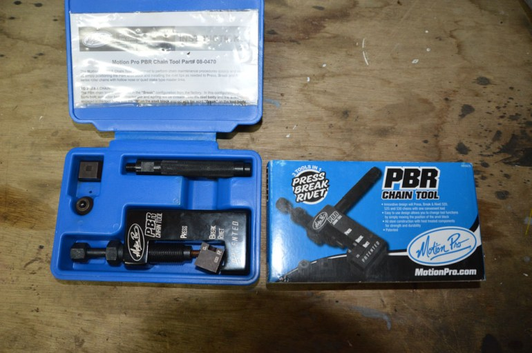 I bought the Motion Pro PBR chain tool