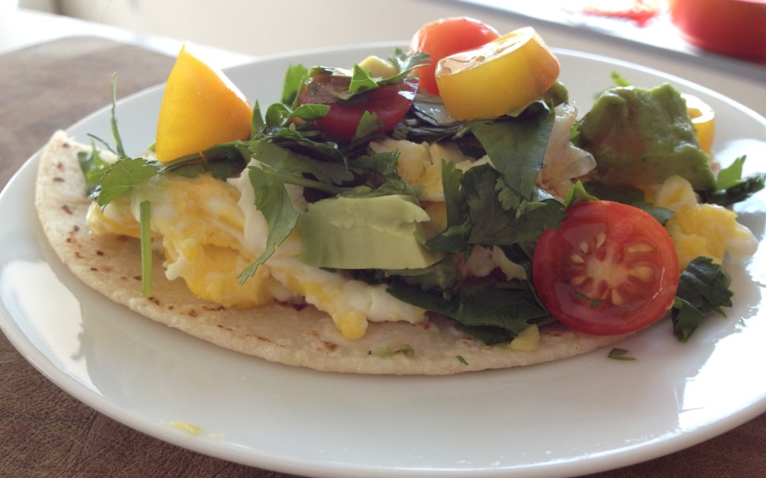 Fast Lunch: Tortilla Scramble