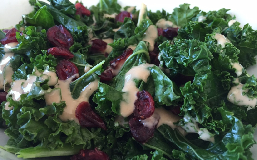 Kale and Cranberry