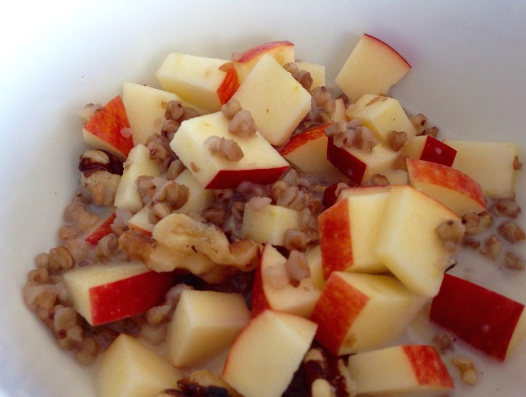 Buckwheat Apple Walnut Breakfast