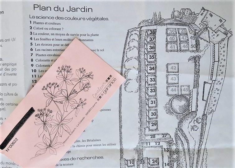 Plan et ticket