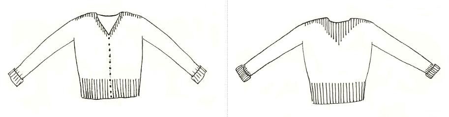proposition Marie Amélie Hiver 2019 pdf - Ariane et la collection Précieux Cardigan de Marie Amelie Designs