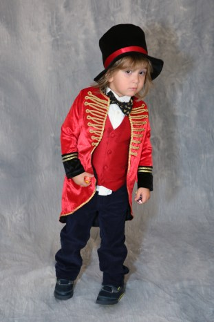 This Little Boy Goes as Bruno Mars in the Southampton Costume Parade, 2016