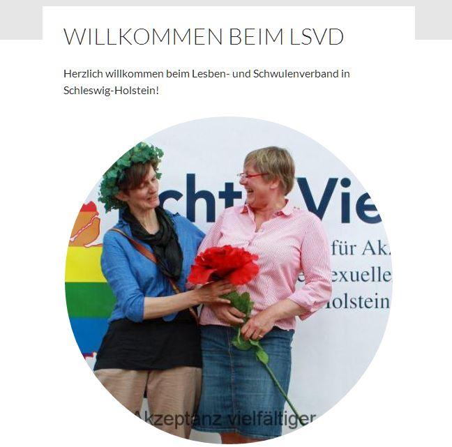 Grazien der Politik. Links Agnes Witte, rechts die SPD-Landtagsabgeordnete Kirsten Eickhoff-Weber