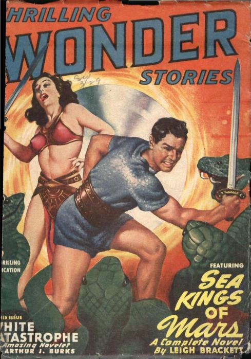 Thrilling Wonder Stories cover June 1949