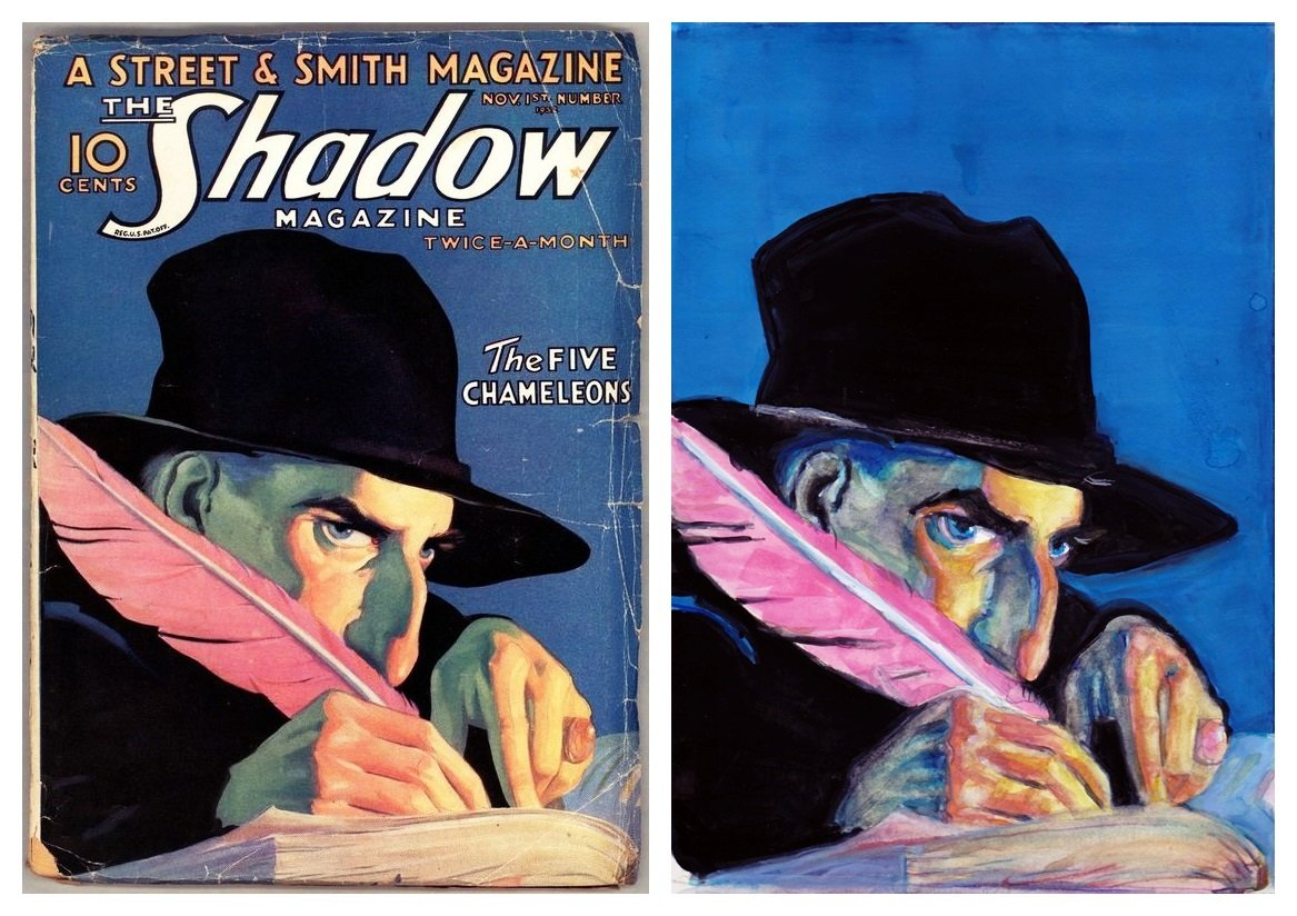 The Shadow Rozen and SLW