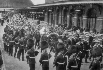 BERTIE FUNERAL GUN CARRIAGE