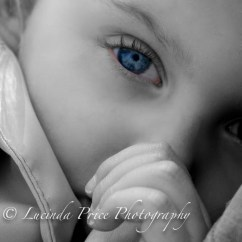 Toddler eye blue touch of colour lucinda price