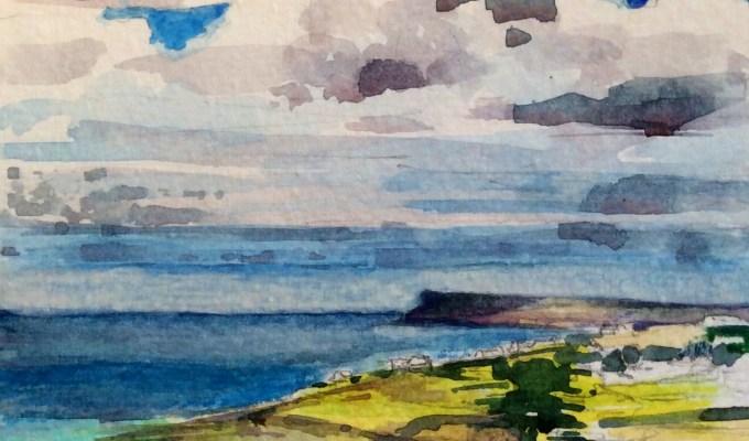 Reflected light Daymer Bay