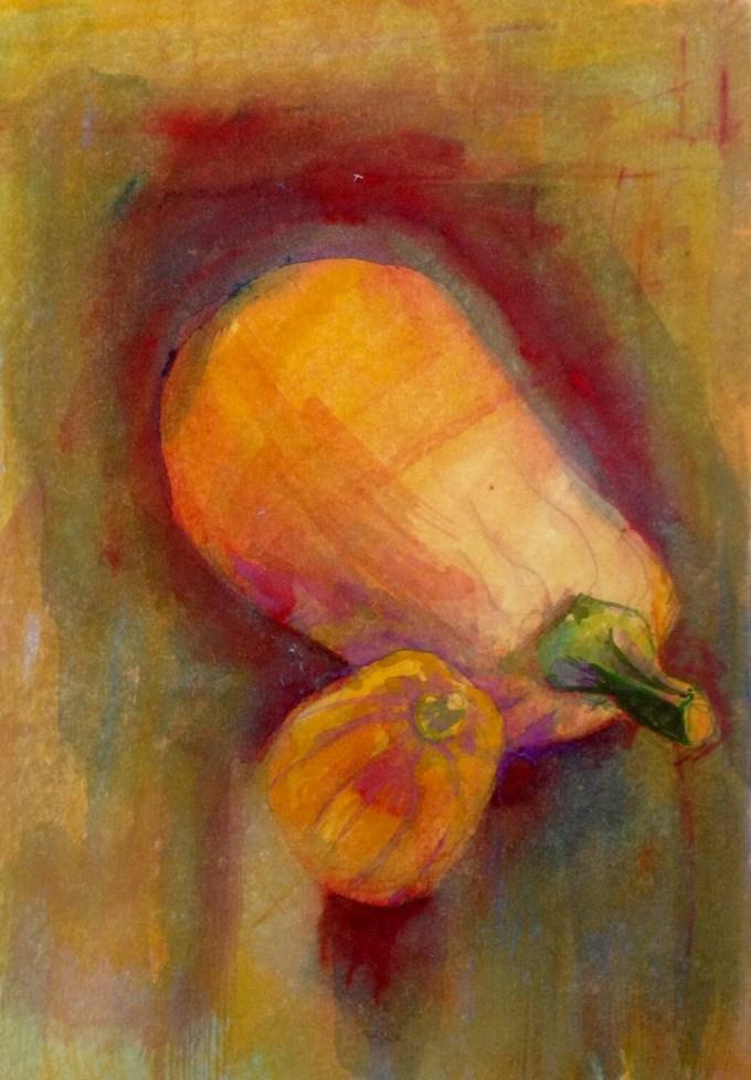 Watercolour, 12.5 x17.8 cm