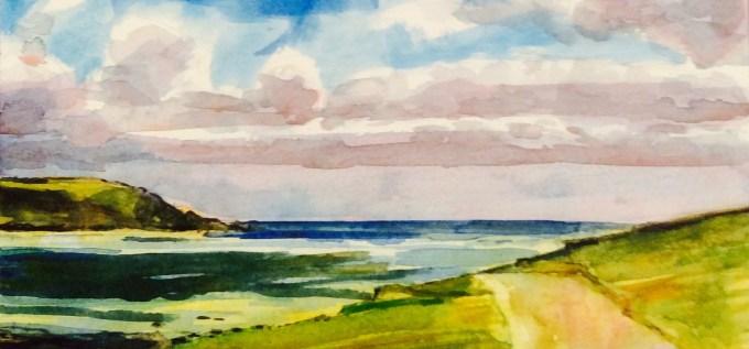 Watercolour, 22 x 15 cm