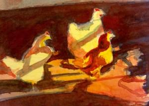 Watercolour 15 X11 cm