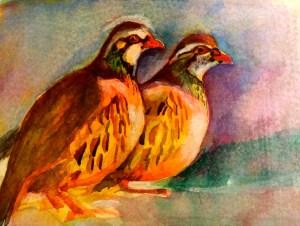 Watercolour, 15 x11cm