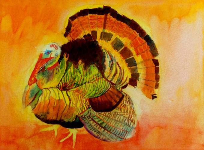 Watercolour, 22 x 15cm