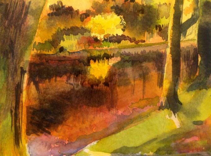 Watercolour, 15 x 11cm
