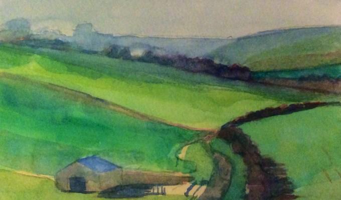 Towards Maiden Bradley