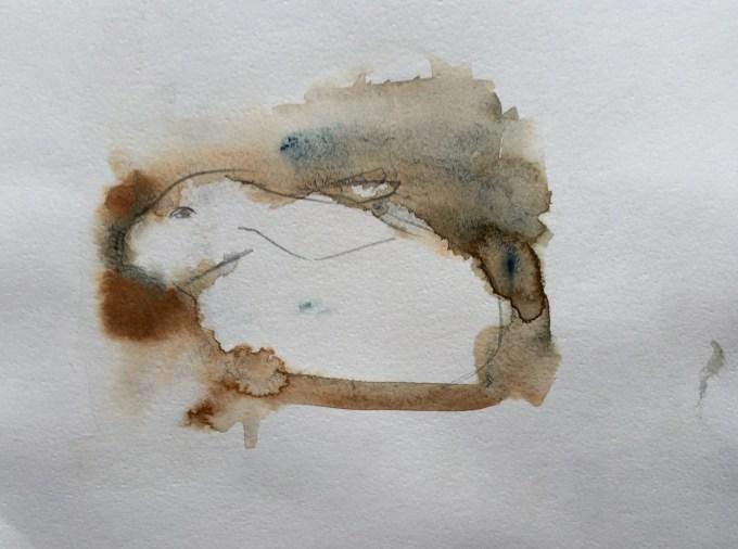 Rex III! Watercolour, 22 x 15 cm